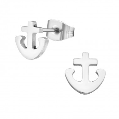 Anchor - 316L Surgical Grade Stainless Steel Stainless Steel Ear studs SD1265