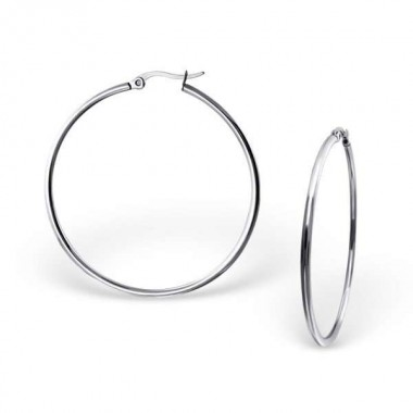 Hoops - 316L Surgical Grade Stainless Steel Stainless Steel Earrings SD129