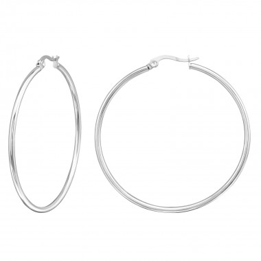 Hoops - 316L Surgical Grade Stainless Steel Stainless Steel Earrings SD130
