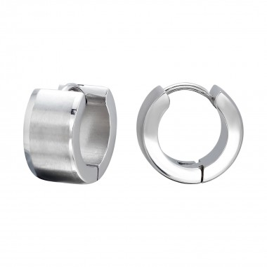 Hoops - 316L Surgical Grade Stainless Steel Stainless Steel Earrings SD134