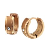 Matte - 316L Surgical Grade Stainless Steel Stainless Steel Earrings SD26594