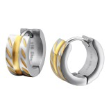 Patterned - 316L Surgical Grade Stainless Steel Stainless Steel Earrings SD26605