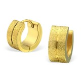 Sand - 316L Surgical Grade Stainless Steel Stainless Steel Earrings SD28201