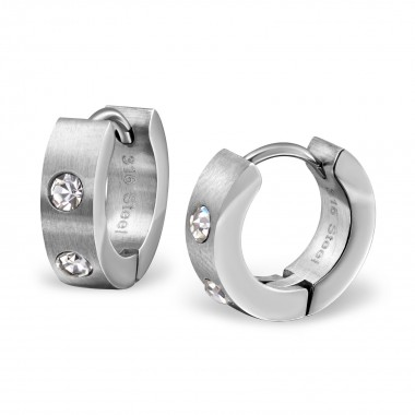 Round - Crystal Stainless S...