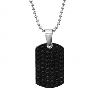 Pendant Tag - 316L Surgical Grade Stainless Steel Stainless Steel Necklace SD31622