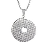 Disc - 316L Surgical Grade Stainless Steel Stainless Steel Necklace SD31831