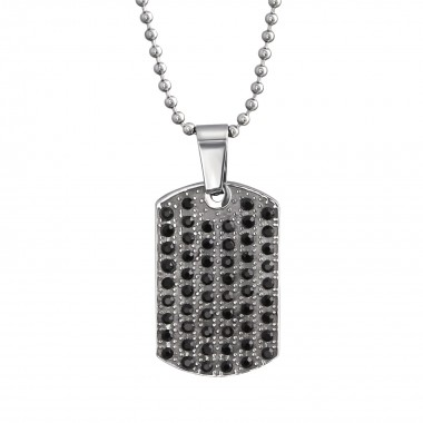 Jeweled Tag - Crystal Stain...