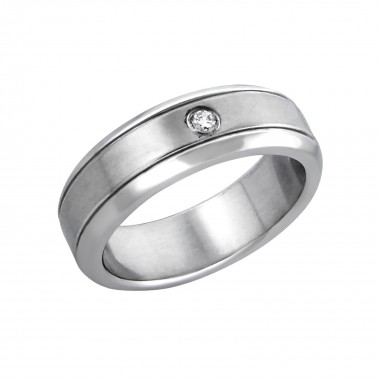 Facet - 316L Surgical Grade Stainless Steel Steel Rings SD1205