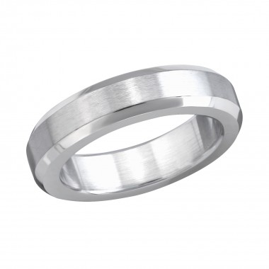 Classic - 316L Surgical Grade Stainless Steel Steel Rings SD1207
