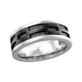 Pattern - 316L Surgical Grade Stainless Steel Steel Rings SD17022