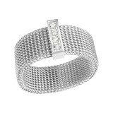 Enamelled - 316L Surgical Grade Stainless Steel Steel Rings SD17371