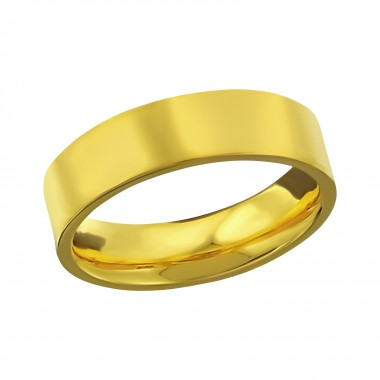 Classic - 316L Surgical Grade Stainless Steel Steel Rings SD17938