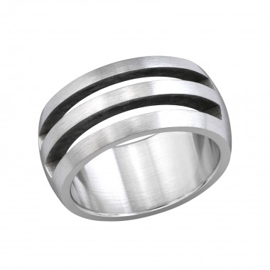 Crevice - 316L Surgical Grade Stainless Steel Steel Rings SD254