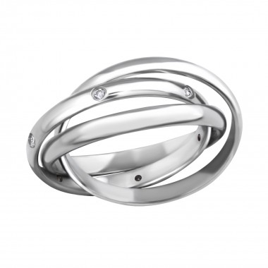 Stack - 316L Surgical Grade Stainless Steel Steel Rings SD259