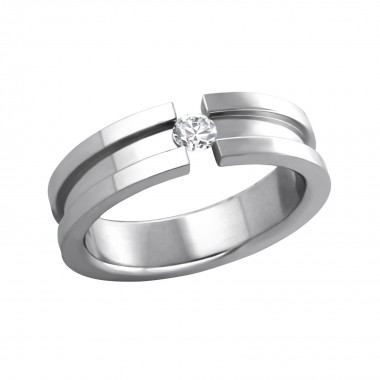 Unclosed - 316L Surgical Grade Stainless Steel Steel Rings SD263