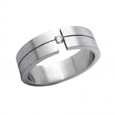 Unclosed - 316L Surgical Grade Stainless Steel Steel Rings SD264