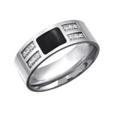 High Polish - 316L Surgical Grade Stainless Steel Steel Rings SD28240