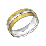 Band - 316L Surgical Grade Stainless Steel Steel Rings SD31852