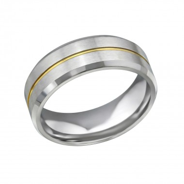 Line - 316L Surgical Grade Stainless Steel Steel Rings SD32602