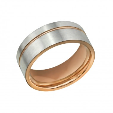 Line - 316L Surgical Grade Stainless Steel Steel Rings SD32607