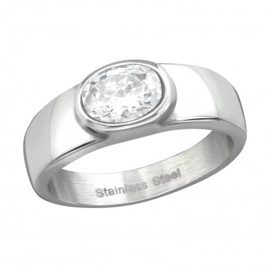Oval - 316L Surgical Grade Stainless Steel Steel Rings SD37731