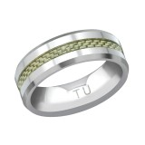 Tungsten Line Ring - Tungsten Steel Rings SD38566