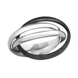 Stack - 316L Surgical Grade Stainless Steel Steel Rings SD6202