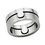 Hole - 316L Surgical Grade Stainless Steel Steel Rings SD6604