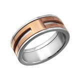 Line - 316L Surgical Grade Stainless Steel Steel Rings SD7724