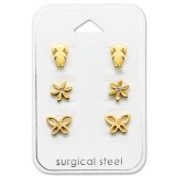 Girl - 316L Surgical Grade Stainless Steel Steel Jewelry Sets SD29082