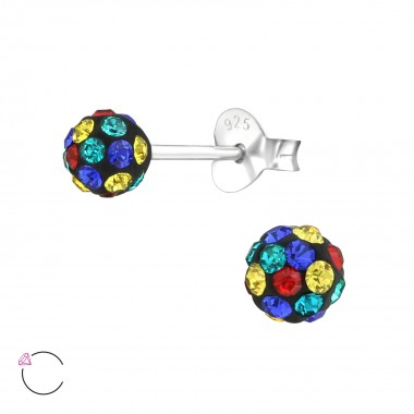 Rainbow Ball - 925 Sterling...
