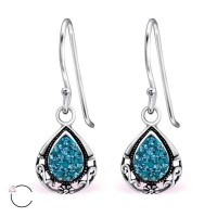 Tear Drop - 925 Sterling Si...