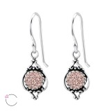 Marquise - 925 Sterling Silver Swarovski Earrings SD25010