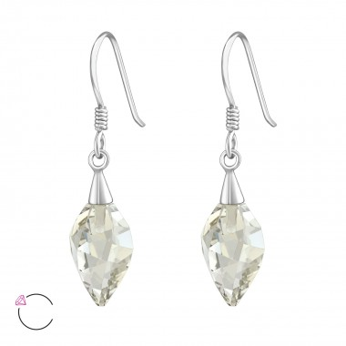 Twisted Drop - 925 Sterling...