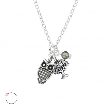 Owl And Tree Of Life - 925 ...