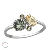 Geometric - 925 Sterling Silver Rings SD39494