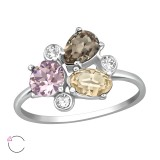 Geometric - 925 Sterling Silver Rings SD39504