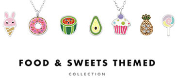 Food & Sweets Silver Jewelry Collection