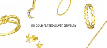 14K Gold Plated Silver Jewelry